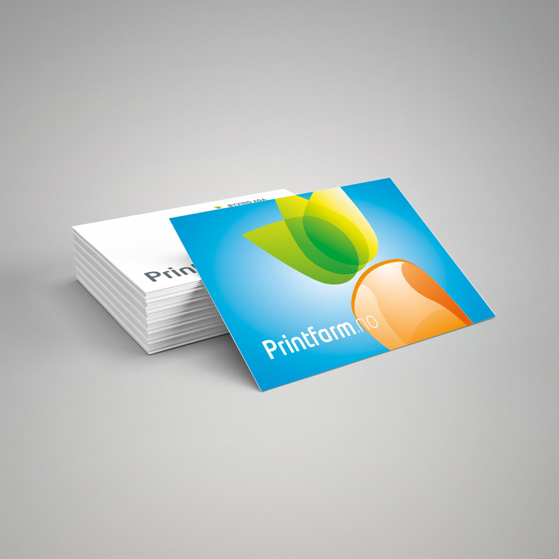 Visittkort - lag ditt eige
